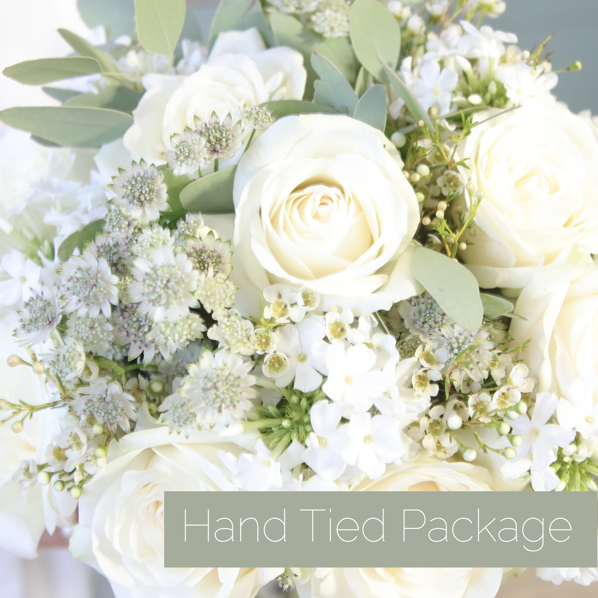 Hand Tied Bouquets Package